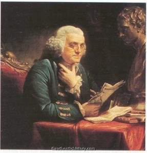 """It's copy like this that makes me glad I keep a snifter of brandy in this office."" -- Ben Franklin, 1773"